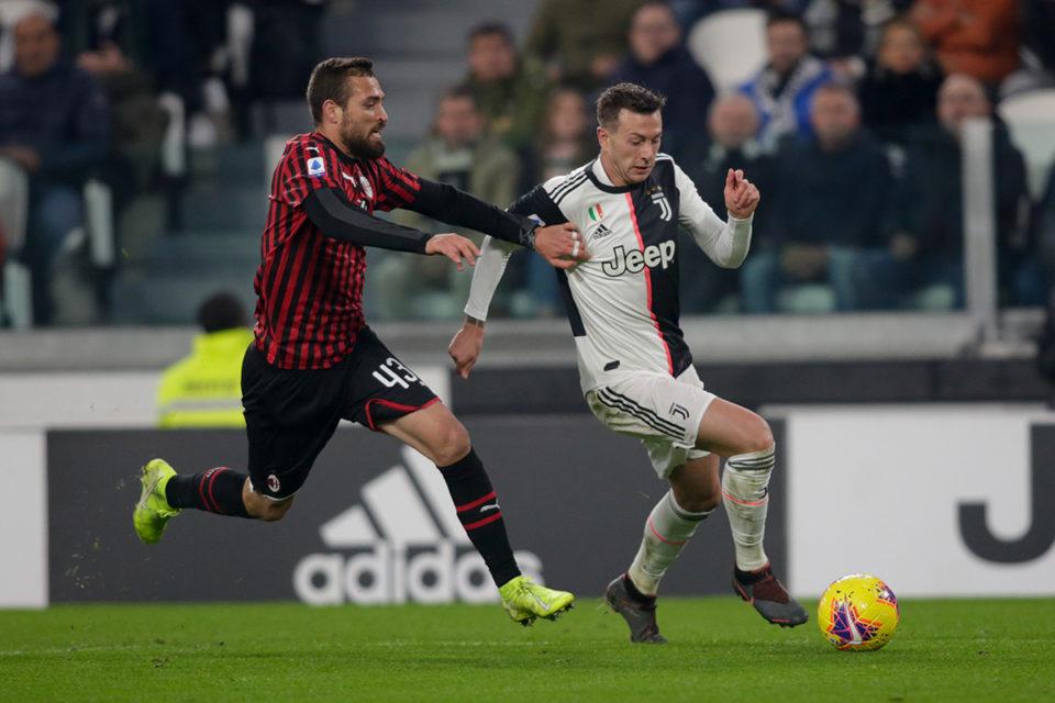 Leo Duarte podczas meczu z Juventusem