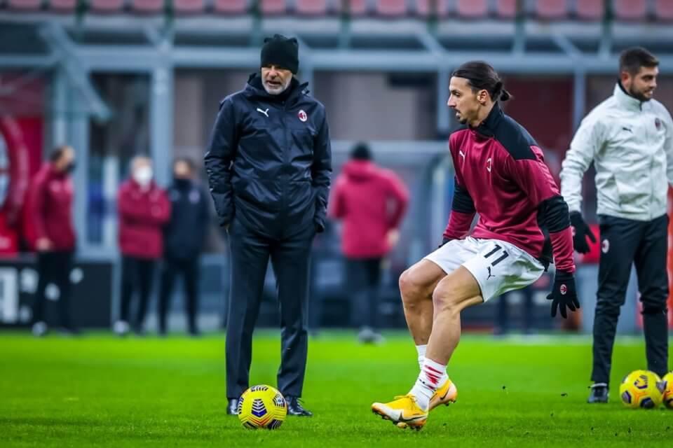 Stefano Pioli i Zlatan Ibrahimović