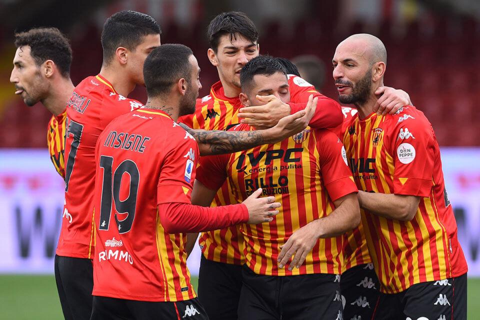 Piłkarze Benevento Calcio