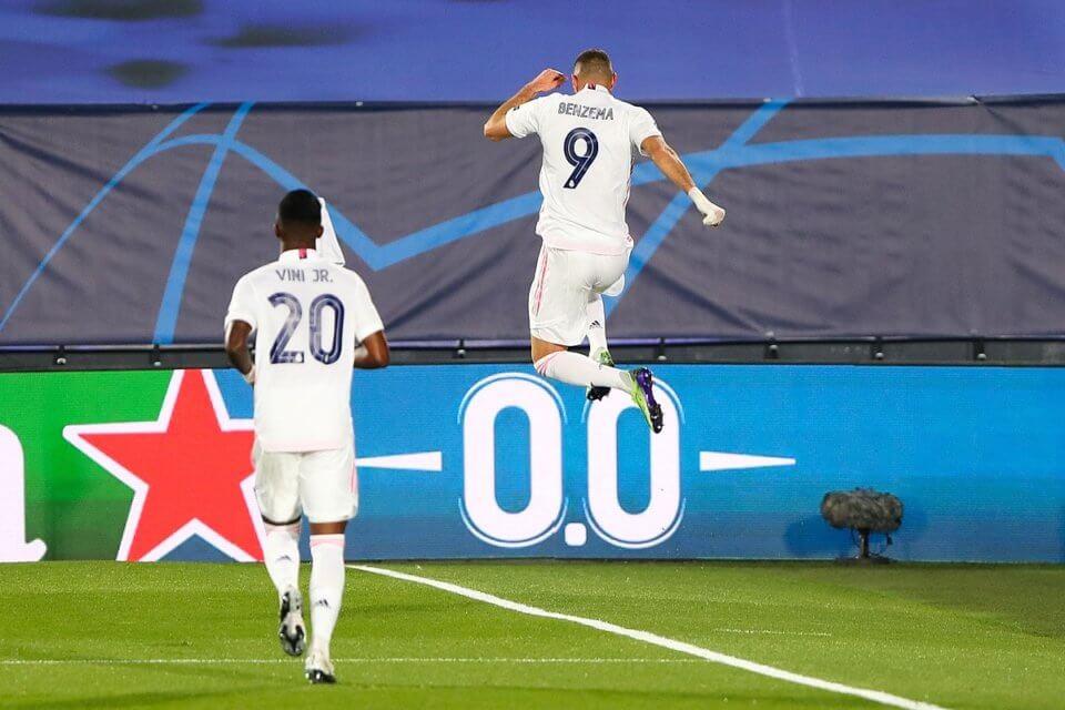 Karim Benzema i Vinicius Junior
