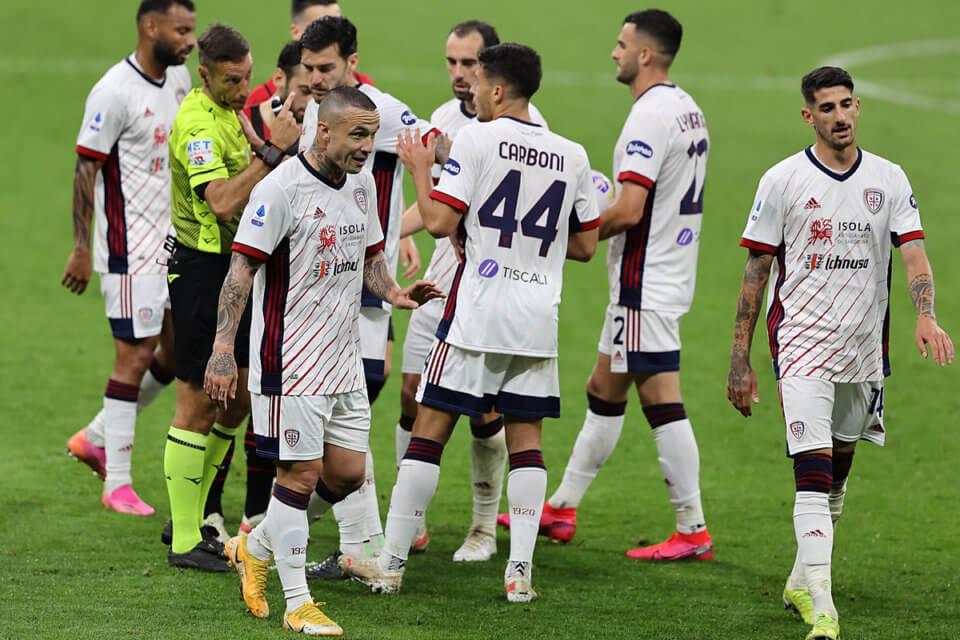 Piłkarze Cagliari Calcio