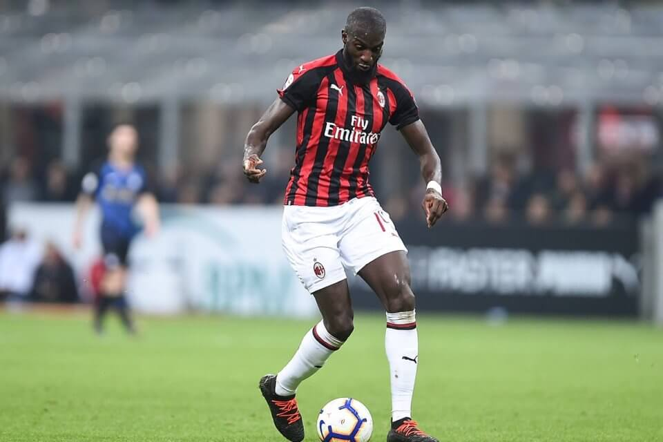 Tiemoue Bakayoko w barwach Milanu